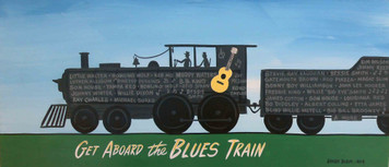 Get aboard the Blues Train by George Borum