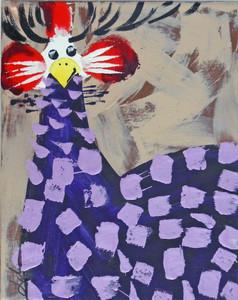 Purple Guinea by Madison Latimer