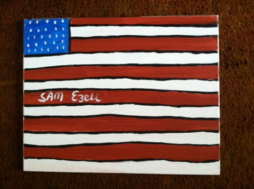 United States Flag by Sam Ezell