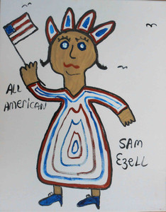Statue of Liberty by Sam Ezell
