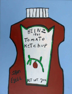 Heinz Tomato Catsup Bottle by Sam Ezell