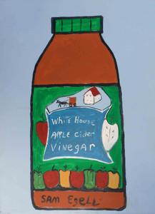 White House Apple Cider Vinegar Jar by Sam Ezell