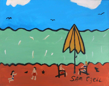 Day at the Beach by Sam Ezell
