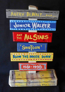 JR Walker and the All Stars Signpost by George Borum
