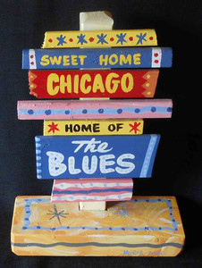 Sweet Home Chicago - Home of the Blues by George Borum