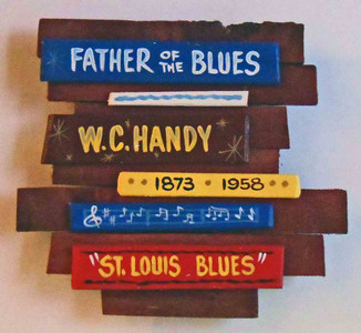W. C. Handy Wall Plaque by George Borum