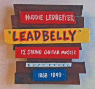 Leadbelly Wall Plaque by George Borum