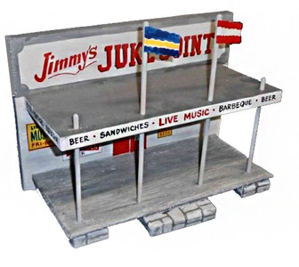 Jimmy's Juke Joint Construction by George Borum