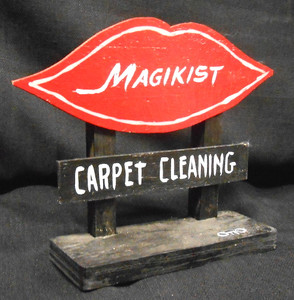 MAGIKIST CARPET CLEANING SIGN POST by OTTO