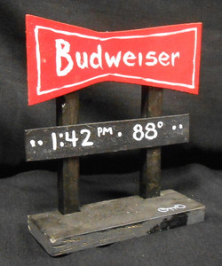 BUDWEISER HI-WAY SIGN by OTTO - Chicago Street Artist