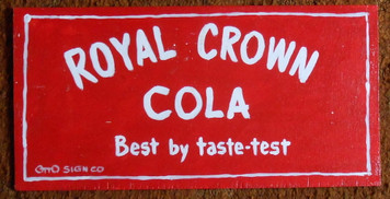 Royal Crown Sign by Otto Schneider