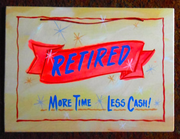 RETIRED - More Time Less Cash - FUNKY SIGN by George Borum