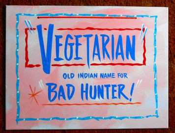 VEGETARIAN -= NAME FOR BAD HUNTER - FUNKY SIGN by George Borum