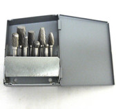 8 Piece Carbide Bur Set w/ Metal Huot Index