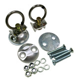 Aluminum L-Track Single Stud Pair