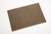 6 x 9 Scotch-Brite Heavy Duty Hand Pad 7440 Brown Course