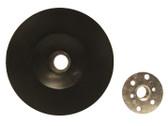 "4.5"" x 5/8""-11 Hard Plastic Resin Fiber Disc Backing Pad"