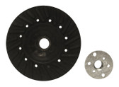 "4.5"" x 5/8""-11 Rubber Turbo Resin Fiber Disc Backing Pad"