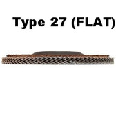 "5"" x 120 Grit x 5/8""-11 Flap Disc Type 27"