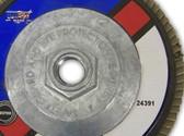 "5"" x 60 Grit x 5/8""-11 Flap Disc Type 27"