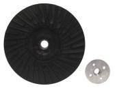 "7"" x 5/8""-11 Rubber Turbo Resin Fiber Disc Backing Pad"