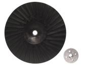 "9"" x 5/8""-11 Rubber Turbo Resin Fiber Disc Backing Pad"