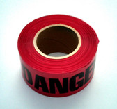 "Danger Tape 3"" x 1000 ft"