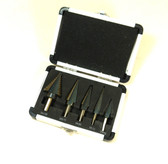 5 Piece Step Drill Set