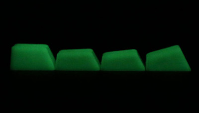 DCS Glow-In-The-Dark keys
