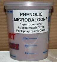 PHENOLIC MICROBALOONS 1 qt $7.50
