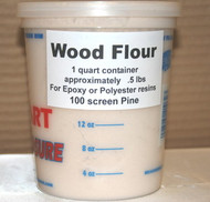 Wood Flour 1 Quart