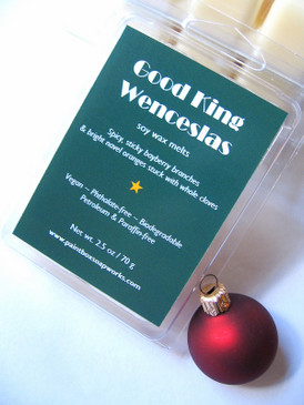 Good King Wenceslas Soy Wax Melts - Bayberry, Orange & Clove... Yuletide Limited Edition