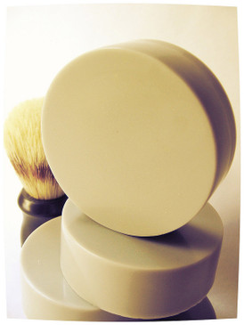 Gilt Shaving Soap - Amber, Resins, Beeswax Candles... Yuletide Limited Edition