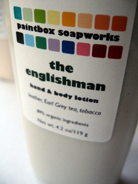The Englishman Organic Hand and Body Lotion - Leather, Earl Grey, Tobacco...