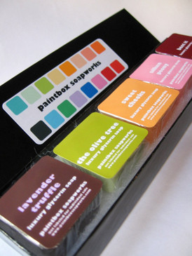 The Paintbox - Signature Glycerin Soap Custom Sample Collection
