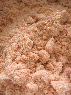 Indian Summer Bath Streusel - Amber, Fresh Hay, Ripe Peaches, Blackberries... Weenie Limited Edition