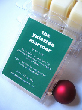 The Yuletide Mariner Soy Wax Melts - Spruce, Balsam, Salt Water, Cold Rain... Yuletide Limited Edition