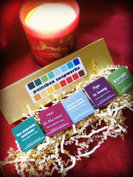 The Yuletide Paintbox - Limited Edition Glycerin Soap Sample Collection