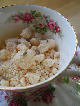 Afternoons + Eiderdowns Bath Streusel - Clementine, White Tea, Honey, Lavender...  Original Formula