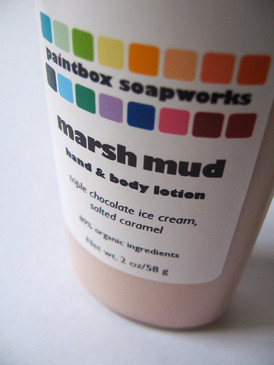 Marsh Mud SAMPLE SIZE Organic Hand and Body Lotion - Triple Chocolate Ice Cream, Salted Caramel, Espresso Beans, A/C... Limited Edition