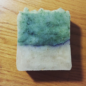 Gooseberry Beach Hot Process Soap - Salt Water, Kelp, Bamboo... Limited Edition, Coconut-Free Formula