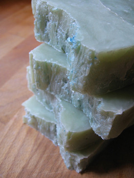 Heima Hot Process Soap - Peppermint, Spruce, Eucalyptus Essential Oils...