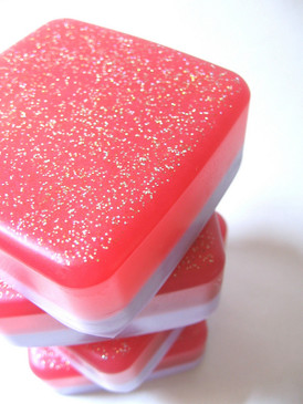 Princess Pony Sparklebutt Luxury Glycerin Soap - Violet, Cotton Candy, Chocolate Mint Wafer Cookies...