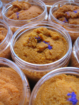 Fairytale Sorbetto Emulsifying Sugar Scrub - Sweet Pumpkin, Spiced Lavender... Weenie Limited Edition
