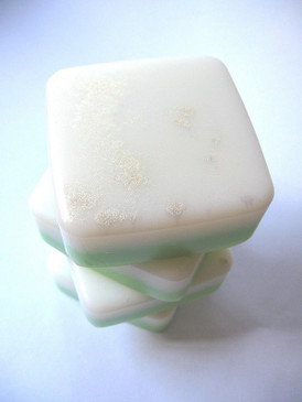 May Queen Luxury Glycerin Soap - Lily of the Valley, Grass, Dandelion, Hay, Sweet Woodruff... Spring Limited Edition