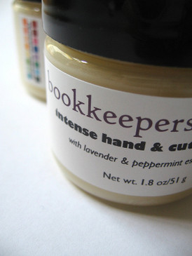 Bookkeeper's Butter Intense Hand and Cuticle Salve with Lavender & Peppermint Essential Oils