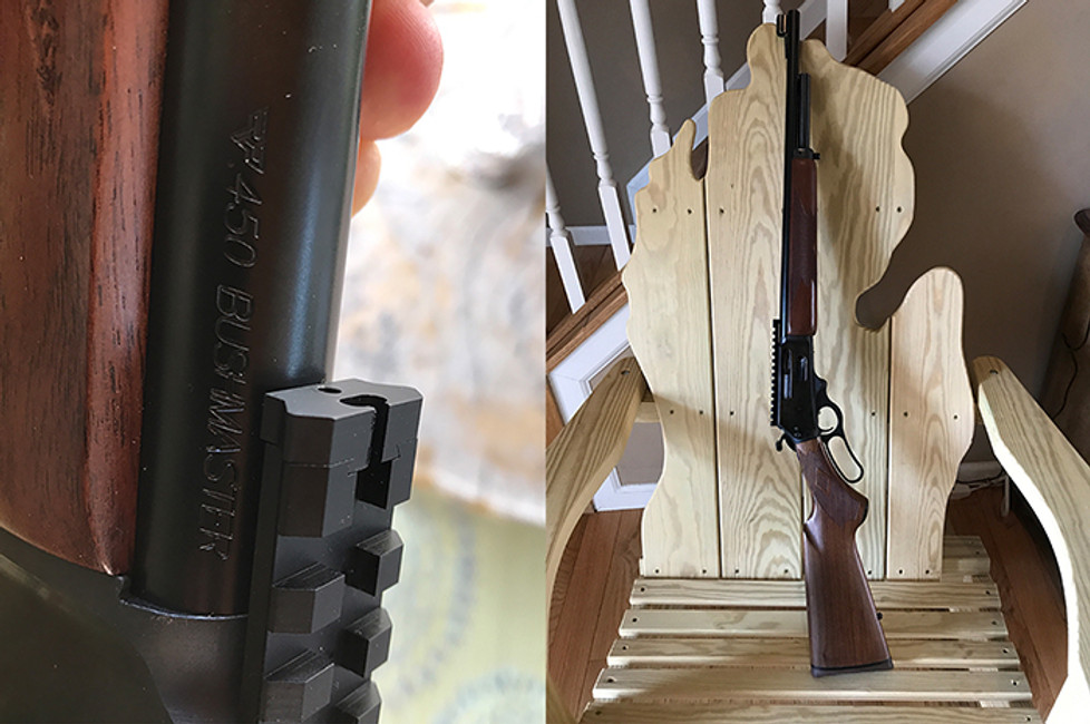 "Marlin .450 Bushmaster Deer Slayer Legal for Michigan Hunter in ""Limited Firearm Deer Zone"""