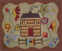Log Cabin Floral