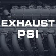 Exhaust Pressure PSI Gauges