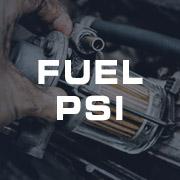Fuel Pressure PSI Gauges